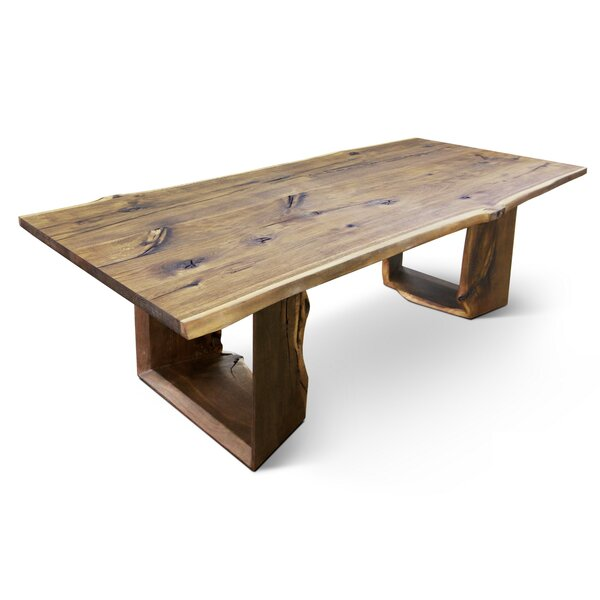 Marceline 240 Solid Wood Dining Table by Loon Peak