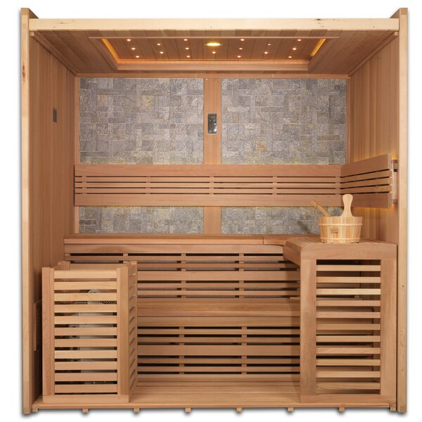 GASC 6 Person FAR Infrared Sauna by Dynamic Infrared