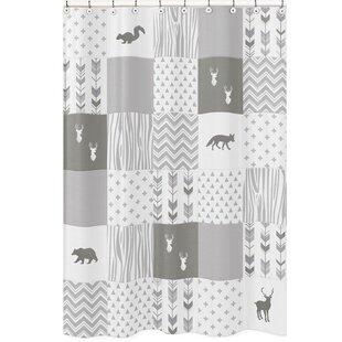 Clearance Woodsy Shower Curtain BySweet Jojo Designs