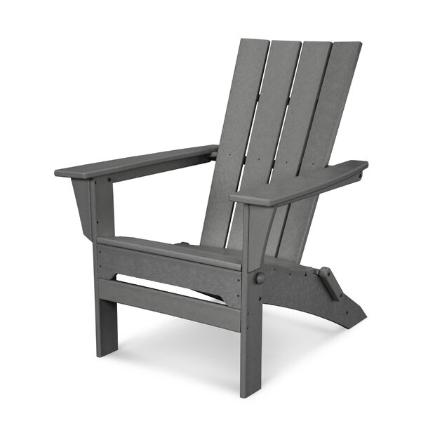 Quattro Plastic Folding Adirondack Chair by POLYWOOD®