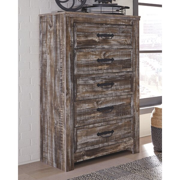 Avalyn 5 Drawer Chest by Millwood Pines