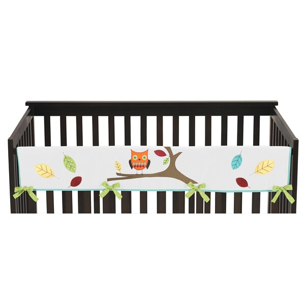 Hooty Long Crib Rail Guard Cover by Sweet Jojo Designs