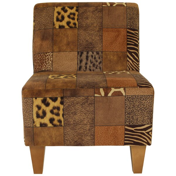 Ronda Modern Armless Slipper Chair by Bloomsbury Market