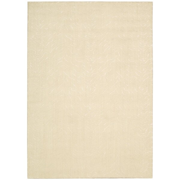 Terrence Light Beige Area Rug by Willa Arlo Interiors