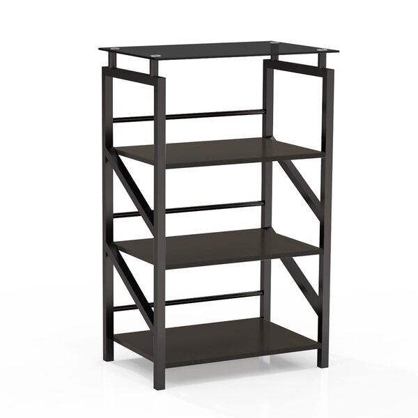 Discount Aesir Glass Etagere Bookcase