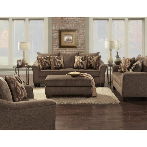 Driskill 4 Piece Living Room Set by Fleur De Lis Living