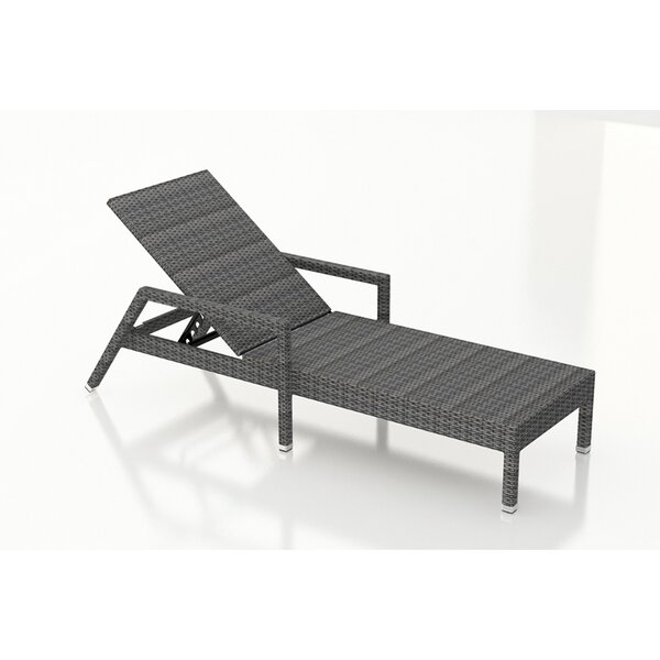 Hobbs Reclining Chaise Lounge by Rosecliff Heights