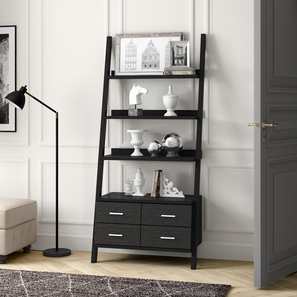 Mccaffery Quirky Ladder Bookcase By Ivy Bronx