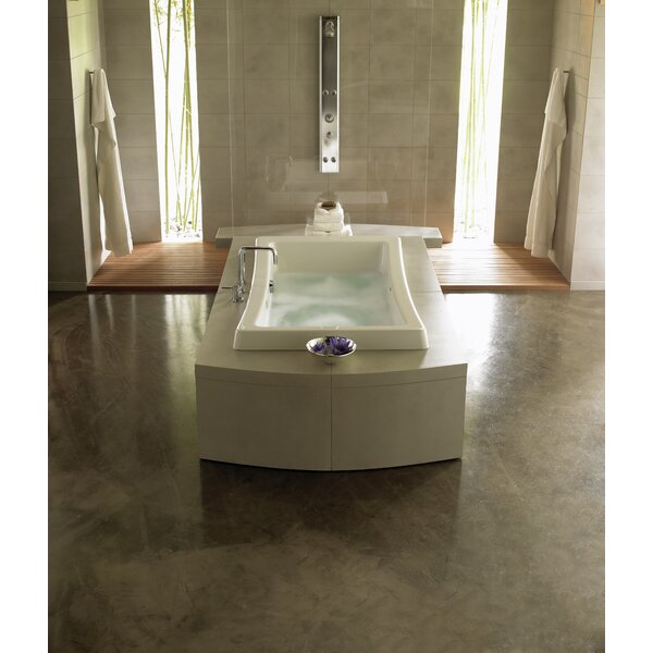 Allusion 72 x 42 Drop In Air Bathtub by Jacuzzi®