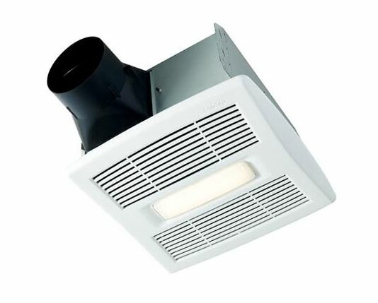 InVent Single-Speed 80 CFM Energy Star Bathroom Fan With LED Light by Broan