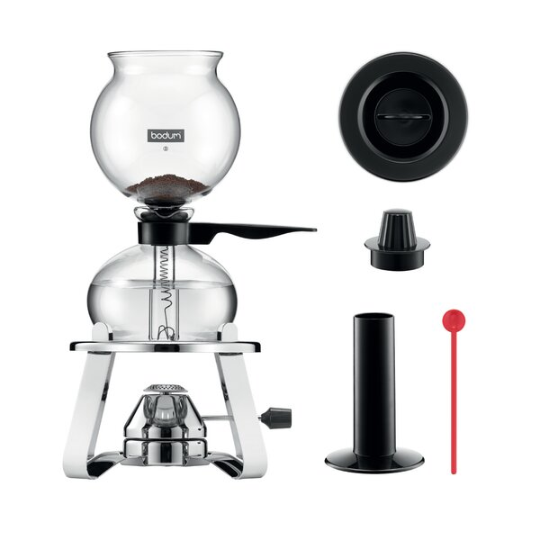 8-Cup Vacuum Coffee Maker with Burner and Accessories by Bodum