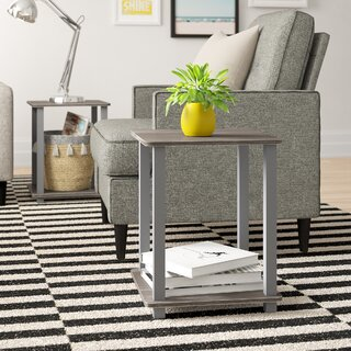 Annie End Table (Set of 2) by Zipcode Design SKU:CD899911 Purchase