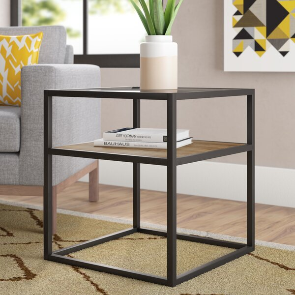 Howa End Table By Wrought Studio