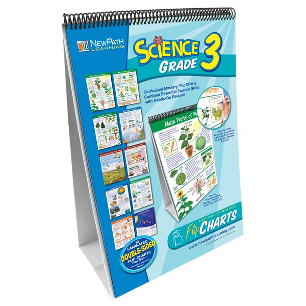 Science Flip Grade 3 Chart by New Path Learning