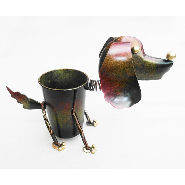 Tin Pot Planter by D-Art Collection