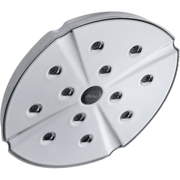 Unversal Showering Components 2.5 GPM Shower Head with H2okinetic Technology by Delta