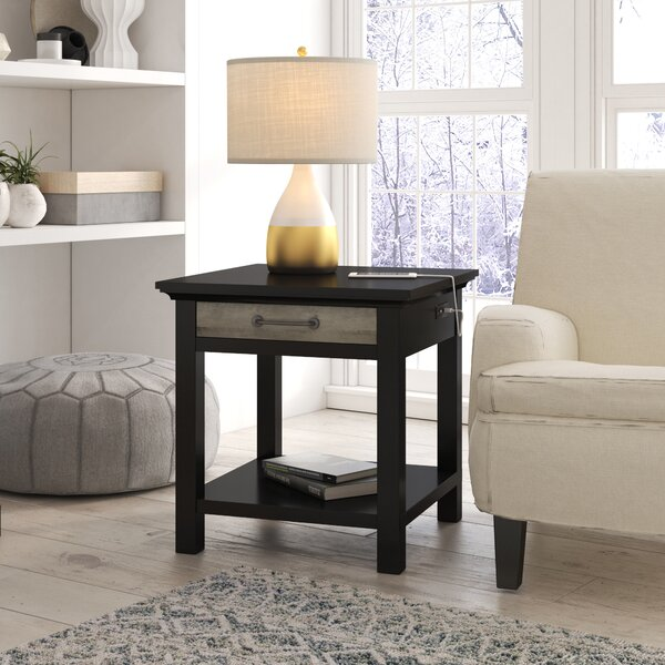 Springdale End Table by Gracie Oaks