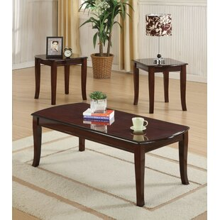 Compare Cheyanne 3 Piece Coffee Table Set ByAlcott Hill