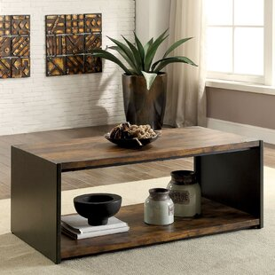 Bourget Transitional Coffee Table 17 Stories