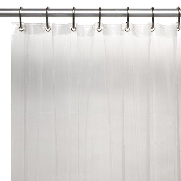 Vinyl 5 Gauge Shower Curtain Liner by Symple Stuff