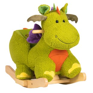 Top Reviews Doodle the Dragon Baby Rocker By Rockin' Rider