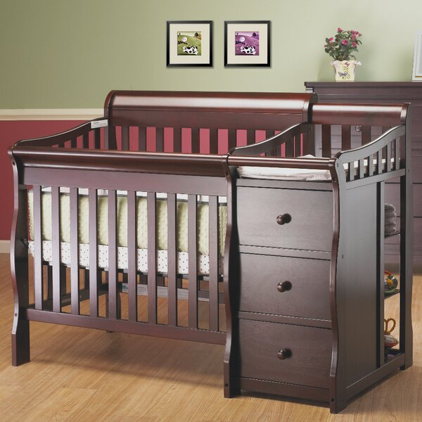 Newport 2-in-1 Convertible Mini Crib and Changer by Sorelle