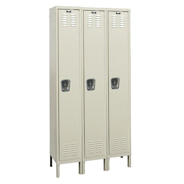 Premium 1 Tier 3 Wide School Locker by Hallowell