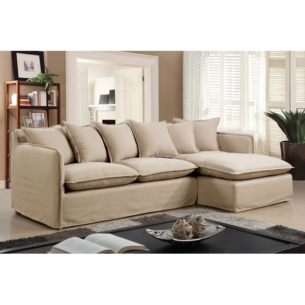 Shop Our Selection Of Kamanda Right Hand Facing Sectional by Ebern Designs by Ebern Designs