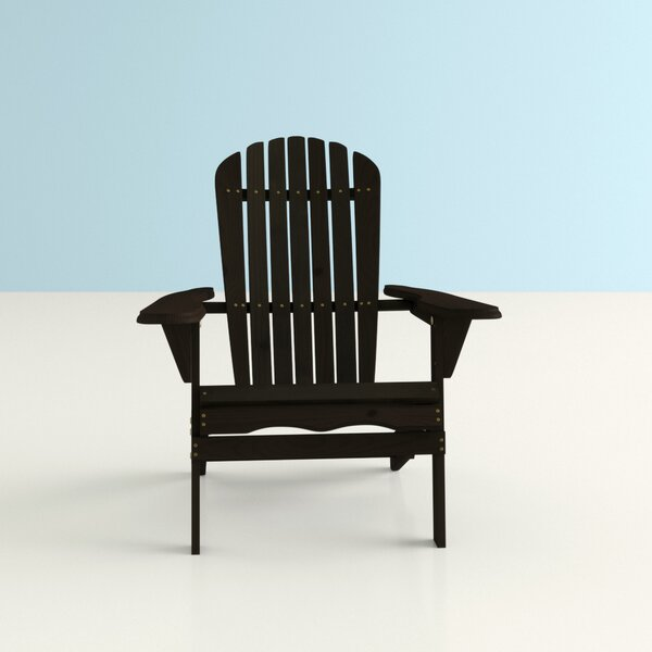 Everly Solid Wood Folding Adirondack Chair by Hashtag Home Hashtag Home