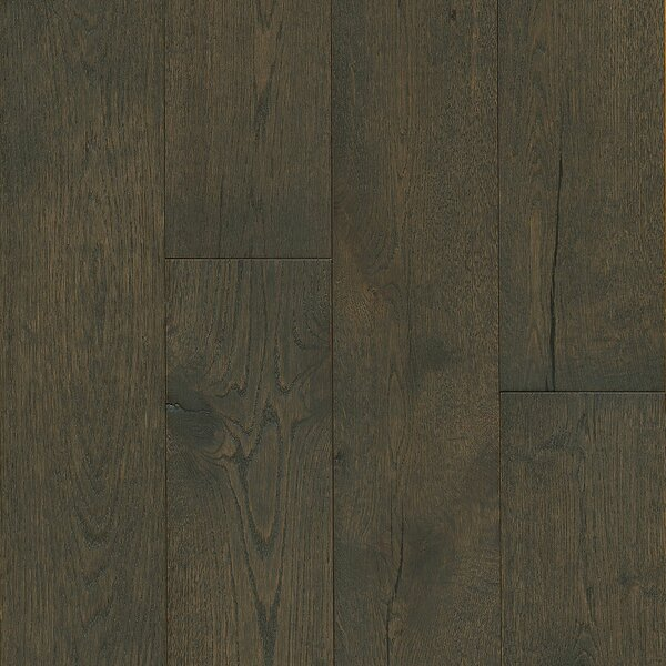 7-1/2 Engineered Oak Hardwood Flooring in Deep Etched Iron Mountain by Armstrong Flooring