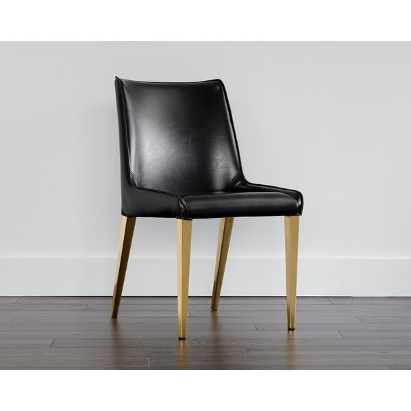 Bridgwater Lawrence Upholstered Dining Chair by Wade Logan Wade Logan