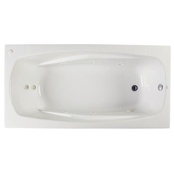 Alexandria 72 x 36 Whirlpool Bathtub by Clarke Products