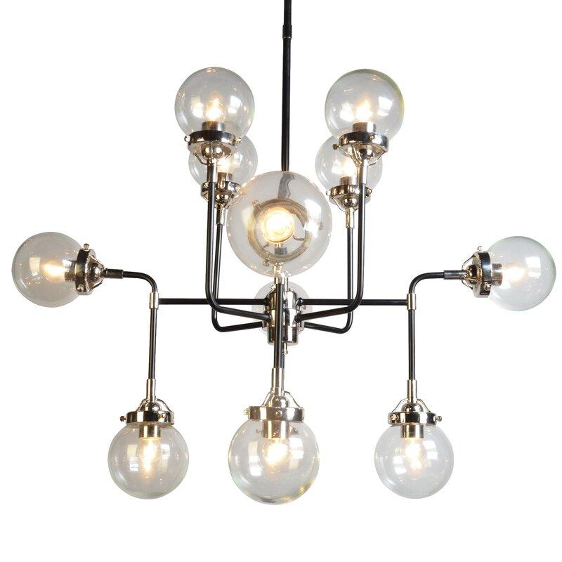 Militello 12-Light Sputnik Chandelier