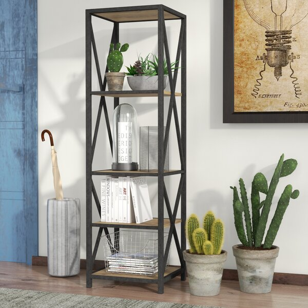 Augustus X-Frame Etagere Bookcase by Trent Austin