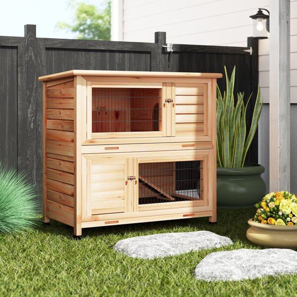 2 Story Small Animal Hutch by Archie & Oscar