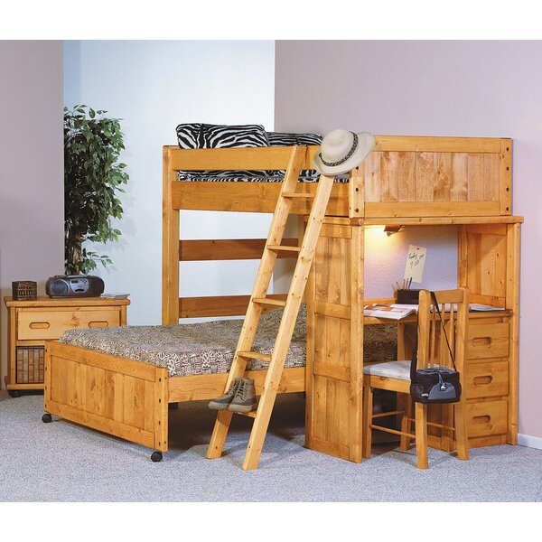 Philbrick Twin Over Full L-Shaped Bunk Bed by Zoomie Kids