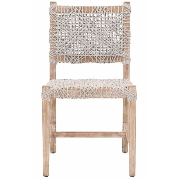 Solid Wood Dining Chair (Set of 2) by Bungalow Rose Bungalow Rose