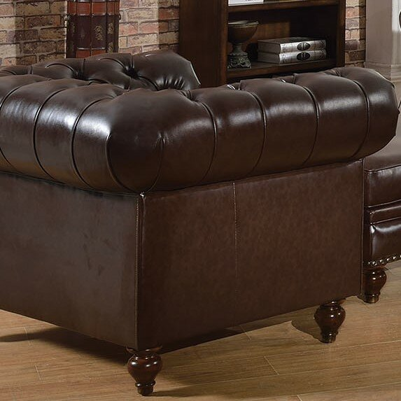 Destan Chesterfield Chair by Darby Home Co