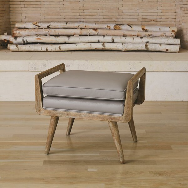 Lucas Upholstered Bench by Global Views
