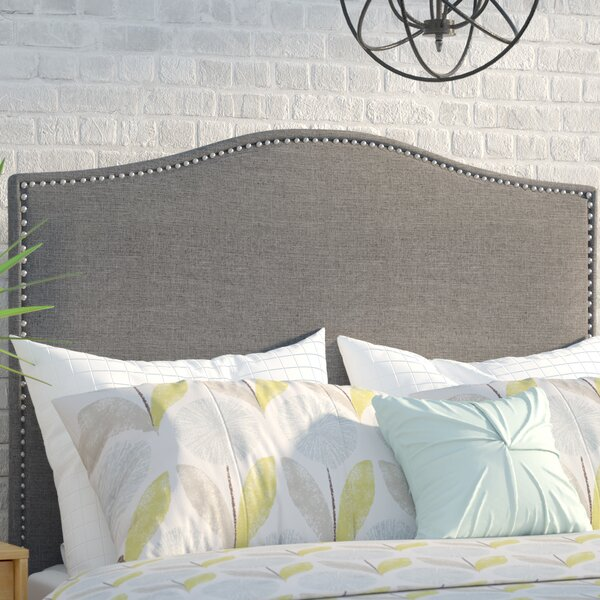 Zoe Upholstered Panel Headboard by Mercury Row