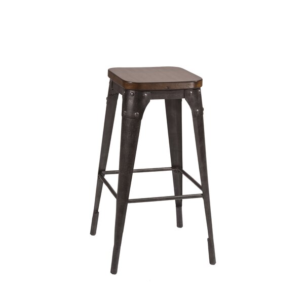 Crawley 30 Bar Stool by 17 Stories