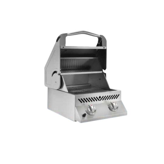 Built-In 2-Burner Built-In Propane Gas Grill by Na