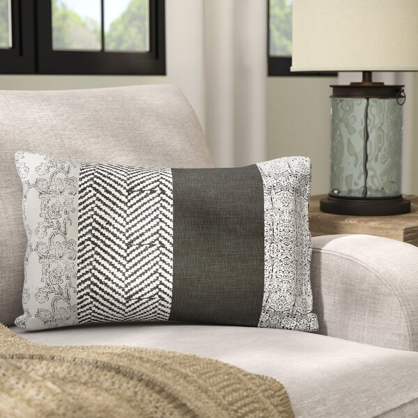 Stephenie Cotton Lumbar Pillow by Laurel Foundry Modern Farmhouse