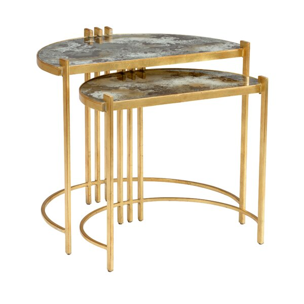 Rockefeller 2 Piece Nesting Tables by Wildwood Wildwood
