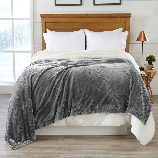 Willesden Premium Reversible Luxury Polyester Blanket By Ebern Designs.
