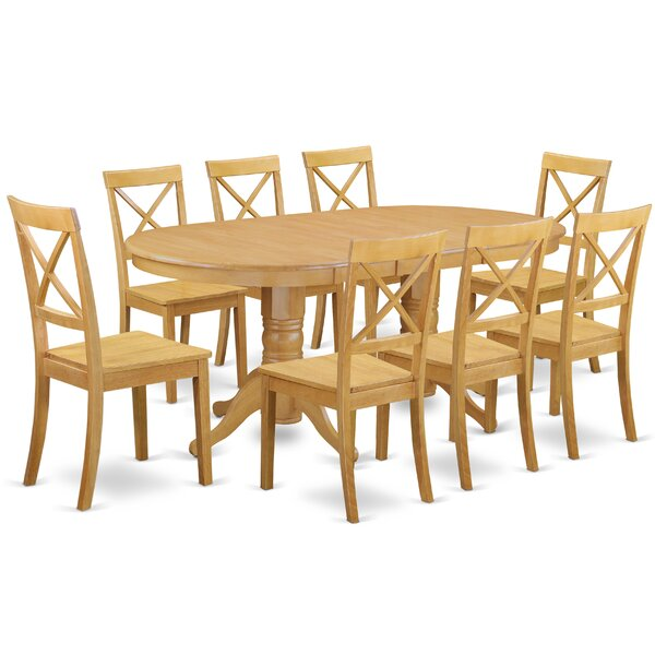 Rockdale 9 Piece Solid Wood Dining Set by Darby Home Co Darby Home Co