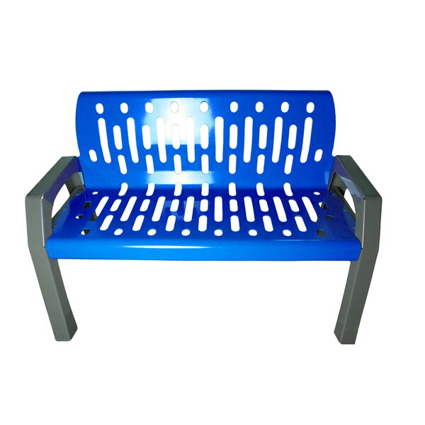 Stream Steel Park Bench by Frost Products Frost Products