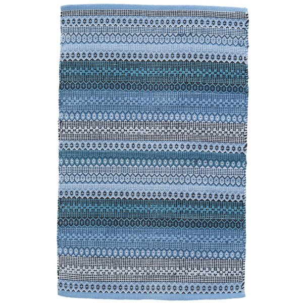 Gypsy Blue Area Rug by Dash and Albert Rugs