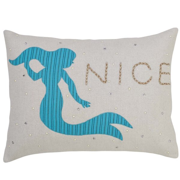 Yizheng Mermaid Lumbar Pillow by Highland Dunes