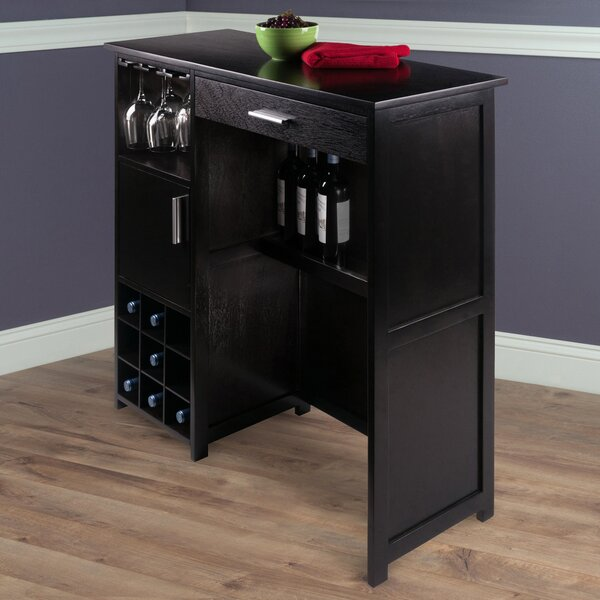 Valencia Wine Bar Cabinet by Latitude Run Latitude Run